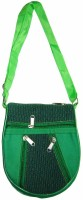 Saffron Craft Women Casual, Formal Green Canvas Sling Bag
