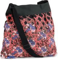 Kanvas Katha Women Multicolor, Black, Pink Artficial Leather Sling Bag