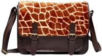 Hawai Women Casual Brown Genuine Leather Sling Bag - SLBE3PCZNTCYWCEH