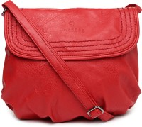 Caprese Women Red PU Sling Bag