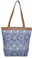 Yangti Women Multicolor Canvas, PU Tote