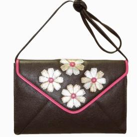 Jeane Sophie Celine Small Sling Bag - Brown 56