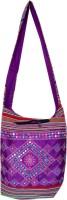 Womaniya Women, Girls Casual Purple Canvas Sling Bag