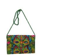 Amer Bags Girls Multicolor Canvas Shoulder Bag