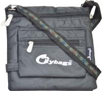 JG Shoppe Alpha Small Sling Bag - Black-456