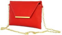 Shore Women Casual Red PU Sling Bag