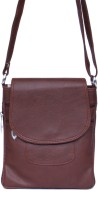 Zasmina Girls Maroon PU, Leatherette Sling Bag
