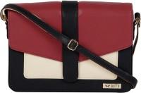 Bern Women Red, Beige, Black PU Sling Bag