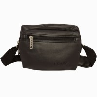 Chimera Leather LMB160521410 Sling Bag - Black