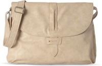 Baggit Women Casual Beige Leatherette Sling Bag