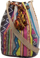The House Of Tara Printed Medium Sling Bag - Multicolor - SLBEY9TPJWV8QFEZ