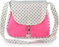 Vogue Tree BLKDOTPINK Medium Sling Bag (Pink)