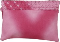Lino Perros Women Casual Pink Leatherette Sling Bag