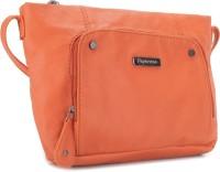 Peperone Women Orange Artificial Leather Sling Bag