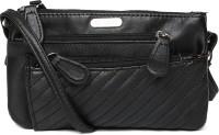 Lavie Women Casual Black Leatherette Sling Bag