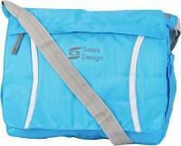 Swiss Design Men Casual Blue Nylon Sling Bag