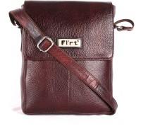 Heaven Deal Women Formal Brown Leatherette Sling Bag