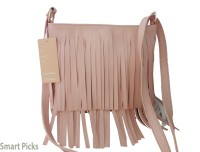Smart Picks Girls Khaki Genuine Leather Sling Bag