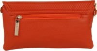 Lino Perros Women Casual Red Leatherette Sling Bag