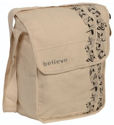 Believe Boys, Girls Casual Beige Cotton Sling Bag for Rs. 189 at ...