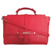 Toteteca Bag Works Women Casual Red Leatherette Sling Bag