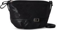 Baggit Women Casual Black Leatherette Sling Bag