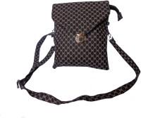 GOOD LIFE STUFF Women Black, Brown Leatherette Sling Bag