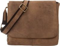 Leaderachi Boys, Girls, Men, Women Casual, Formal, Sports Brown Genuine Leather Sling Bag - SLBE68NG5URG8GCC