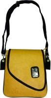 Surmount Girls, Women Yellow PU Sling Bag