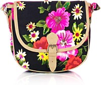 Shaun Design Neon Floral Cross Body Small Sling Bag - SLBDX5HKVDDZZGHH