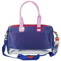 The Jute Shop Women Formal Blue Cotton Sling Bag