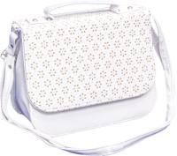Voaka Girls, Women White Leatherette Sling Bag