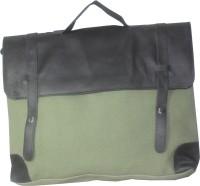 Moda Desire Women, Men Casual Green Canvas Sling Bag