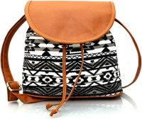 Lychee Bags Girls Multicolor Canvas Sling Bag