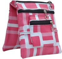 Hawai Beautiful Pattern Small Sling Bag - Pink-01