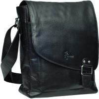 Hawai Women, Men Formal, Casual Black Genuine Leather Sling Bag