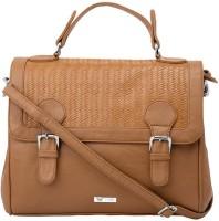 Beau Design Women Casual Brown PU Sling Bag