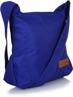 Suntop Girls, Women, Boys, Men Casual Blue Nylon Sling Bag