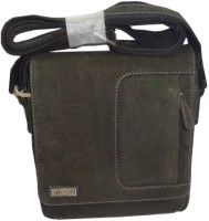 Kan Men, Women Black Genuine Leather Sling Bag