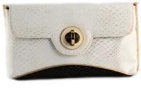 Saisha Classic Medium Sling Bag - White, Black - SLBEFJKA4RESEHSZ