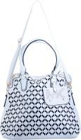AVANEESH Girls White Leatherette Hand-held Bag
