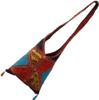 Little India Multicolour Barmeri Embroidery Sling Bag -102 Large Sling Bag - Multicolor-101