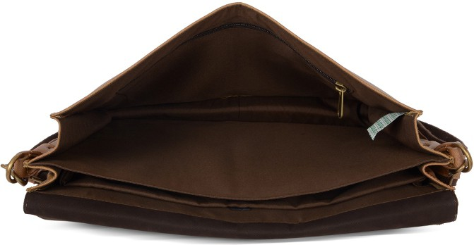 Baggit Men Brown Rexine Sling Bag