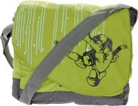 JG Shoppe Men, Women Casual Green Polyester Messenger Bag