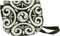 The House Of Tara Women Brown PU Sling Bag