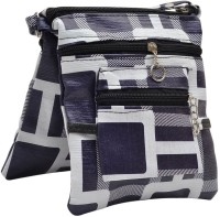 Hawai Block Style Small Sling Bag - Purple-01