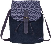 Fastrack Girls, Women Blue Canvas Sling Bag