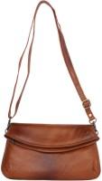 Incredible Range Women Beige Leatherette Sling Bag