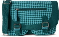 Baggit Women Casual Blue Cotton Sling Bag