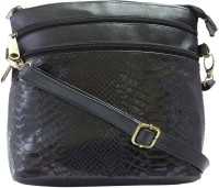 Stylocus Women Casual Black Sling Bag